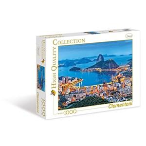 """Clementoni (39258) - """"Rio de Janeiro"""" - 1000 pièces"""