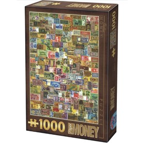 """D-Toys (75277) - """"Billets de Banque"""" - 1000 pièces"""