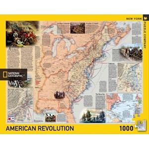"New York Puzzle Co (NPZNG1711) - ""American Revolution"" - 1000 pièces"