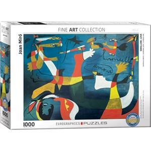 "Eurographics (6000-0859) - Joan Miro: ""Hirondelle Amour"" - 1000 pièces"