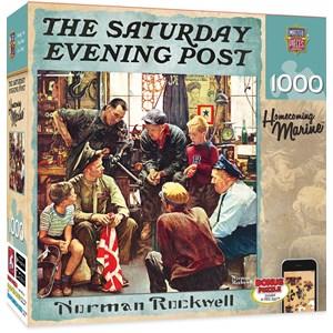 """MasterPieces (71366) - Norman Rockwell: """"Retour à la maison du Marin's"""" - 1000 pièces"""