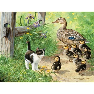 """SunsOut (51917) - Persis Clayton Weirs: """"Duck Inspector"""" - 500 pièces"""