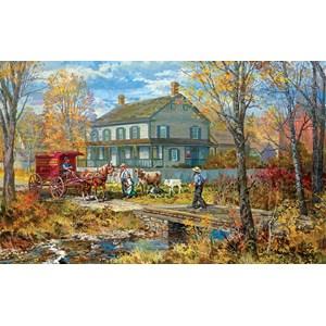 "SunsOut (54637) - Peter Snyder: ""Autumn at the Schneider House"" - 300 pièces"