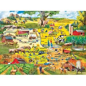 "SunsOut (58253) - Mary Thompson: ""The Heartland"" - 1000 pièces"
