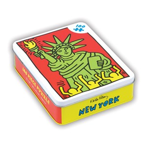 """Chronicle Books / Galison - Keith Haring: """"New York"""" - 100 pièces"""