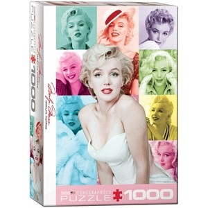 "Eurographics (6000-0811) - Milton Greene: ""Marilyn Monroe"" - 1000 pièces"