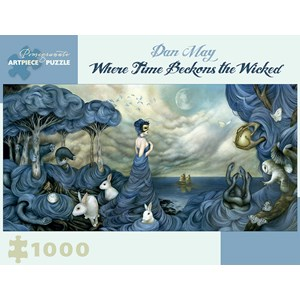 """Pomegranate (AA936) - Dan May: """"Where Time Beckons"""" - 1000 pièces"""