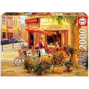 "Educa (17130) - Haixia Liu: ""Corner Café"" - 2000 pièces"