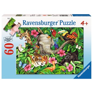 """Ravensburger (09533) - Jane Maday: """"Ambiance tropicale"""" - 60 pièces"""