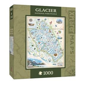 """MasterPieces (71704) - Chris Robitaille: """"Glacier National Park"""" - 1000 pièces"""
