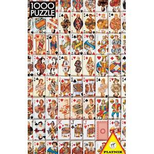 """Piatnik (543746) - """"Jeu de cartes"""" - 1000 pièces"""