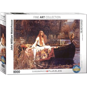 "Eurographics (6000-1133) - John William Waterhouse: ""The Lady of Shalott"" - 1000 pièces"