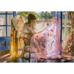 """Educa (16314) - Vicente Romero: """"Pink Shawl Vincente Romero"""" - 2000 pièces"""