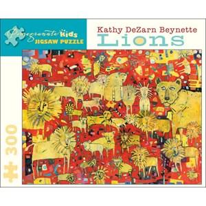 "Pomegranate (JK010) - Kathy DeZarn Beynette: ""Lions"" - 300 pièces"