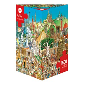 "Heye (29634) - Hugo Prades: ""Global City"" - 1500 pièces"