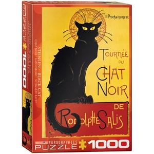 """Eurographics (6000-1399) - Steinlen: """"Tournée du Chat Noir"""" - 1000 pièces"""