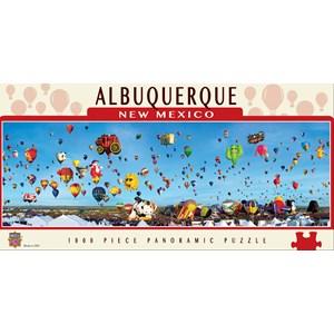 """MasterPieces (71585) - James Blakeway: """"Albuquerque Balloons"""" - 1000 pièces"""