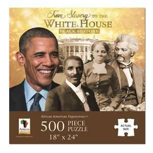 """African American Expressions (PUZ-11) - """"From Slavery to the White House"""" - 500 pièces"""
