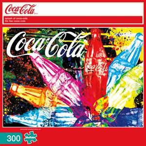 """Buffalo Games (2474) - """"Splash of Coca-Cola (Coca-Cola)"""" - 300 pièces"""