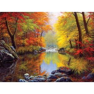 """SunsOut (48535) - Charles White: """"Autumn Sanctuary"""" - 1000 pièces"""