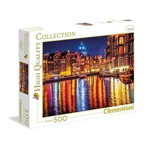 """Clementoni (35037) - """"Amsterdam"""" - 500 pièces"""