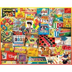 "White Mountain (924PZ) - Lois B. Sutton: ""Games We Played"" - 1000 pièces"
