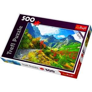 """Trefl (371901) - Jan Wlodarczyk: """"Autumn Tatras, Poland"""" - 500 pièces"""