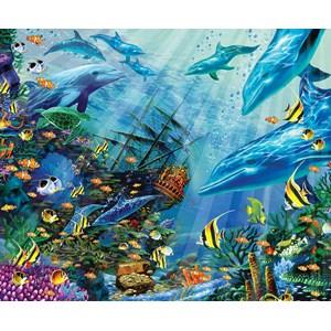 "SunsOut (80121) - John Enright: ""Return to Treasure Island"" - 1000 pièces"