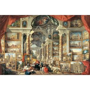 """Ravensburger (17409) - Giovanni Paolo Panini: """"Vues de la rome moderne"""" - 5000 pièces"""