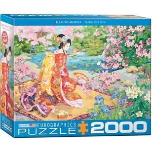 """Eurographics (8220-0975) - Haruyo Morita: """"Haru No Uta"""" - 2000 pièces"""