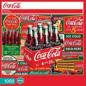 """Buffalo Games (11269) - """"Evergreen (Coca-Cola)"""" - 1000 pièces"""