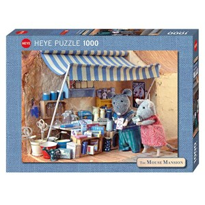 "Heye (29659) - Karina Schaapman: ""Mouse Mansion, Market Stand"" - 1000 pièces"