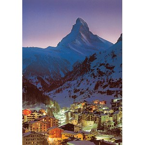 "Tomax Puzzles (30-032) - ""Night in Zermatt"" - 300 pièces"