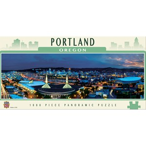 "MasterPieces (71590) - James Blakeway: ""Portland"" - 1000 pièces"
