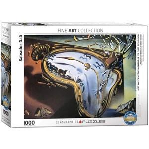 """Eurographics (6000-0842) - Salvador Dali: """"Les Montres Molles"""" - 1000 pièces"""