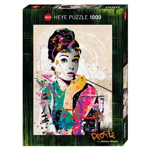 "Heye (29684) - Johnny Cheuk: ""Audrey"" - 1000 pièces"