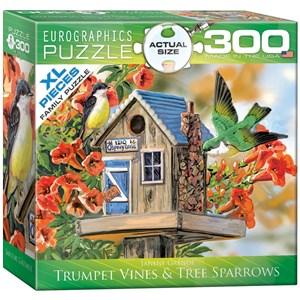 """Eurographics (8300-0602) - Janene Grende: """"Nid au coeur des trompettes de vignes"""" - 300 pièces"""