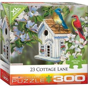 """Eurographics (8300-0601) - Janene Grende: """"23 Cottage Lane pour oiseaux"""" - 300 pièces"""