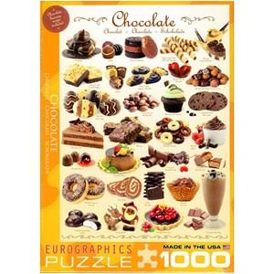 "Eurographics (6000-0411) - ""Chocolate"" - 1000 pièces"