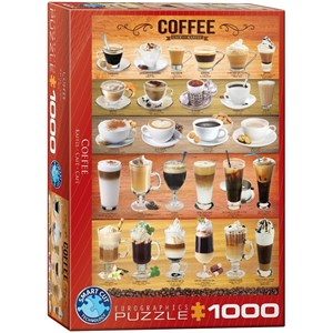 "Eurographics (6000-0589) - ""Café"" - 1000 pièces"
