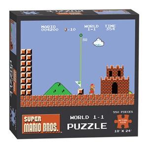 "USAopoly (PZ005-488) - ""Super Mario Bros. World 1-1"" - 550 pièces"