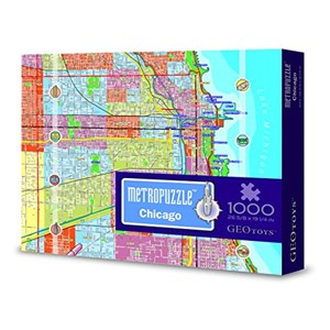 "Geo Toys (GEO 212) - ""Chicago Mypuzzle"" - 1000 pièces"
