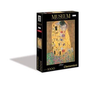 """Clementoni (31442) - Gustav Klimt: """"Le Baiser"""" - 1000 pièces"""