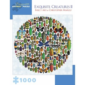 """Pomegranate (AA876) - Christopher Marley: """"Exquisite Creatures II"""" - 1000 pièces"""