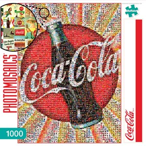 "Buffalo Games (11268) - Robert Silvers: ""Coca-Cola"" - 1000 pièces"