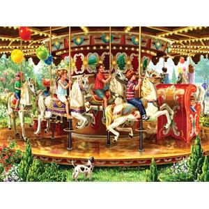"SunsOut (59798) - Liz Goodrick-Dillon: ""Carousel Ride"" - 1000 pièces"