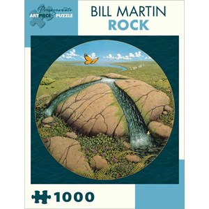 """Pomegranate (AA823) - Bill Martin: """"Rock"""" - 1000 pièces"""