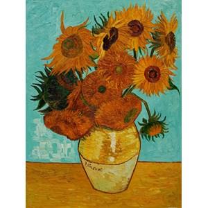 """Piatnik (561740) - Vincent van Gogh: """"Les tournesols"""" - 1000 pièces"""