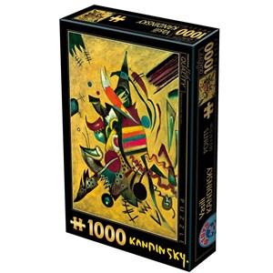 """D-Toys (75130) - Vassily Kandinsky: """"Points"""" - 1000 pièces"""