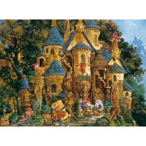 "Ravensburger (14112) - James Christensen: ""College of Magical Knowledge"" - 500 pièces"